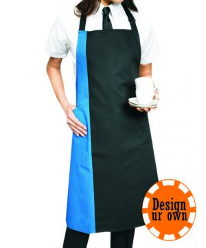 Colour Block Bib Apron