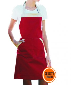 two tone bib apron main pic
