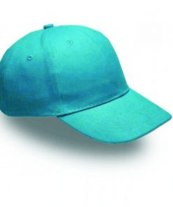 6 panel cotton cap
