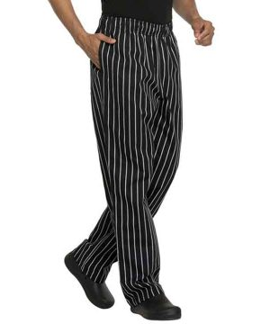 chef baggy stripe pants