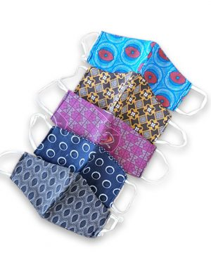 African print face mask 1
