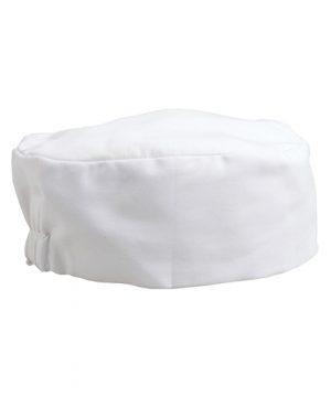 Beanie Chef Hat White