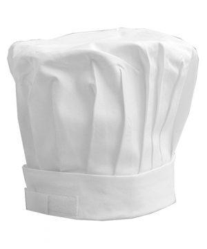 Mushroom Chef Hat white