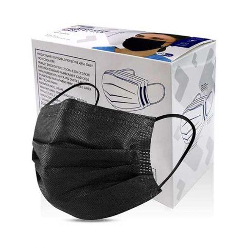 black-disposable-mask