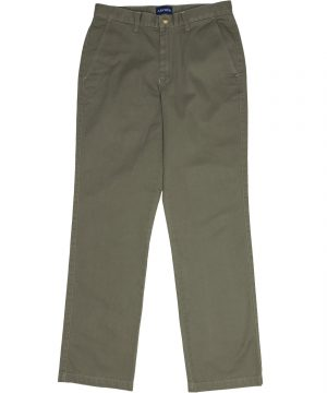 MENS FLAT FRONT CHINO OLIVE