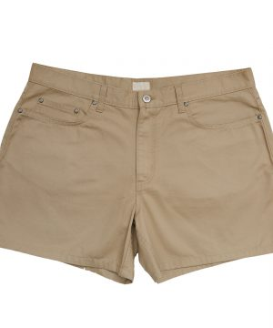 Five Pocket Safari Shorts Beige