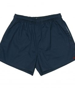 J54 Cotton Rugby Shorts Navy