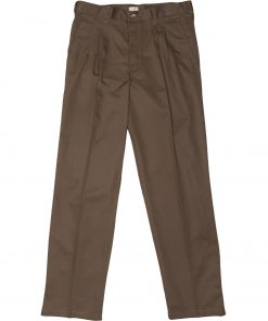 Two Pleat Chino Taupe