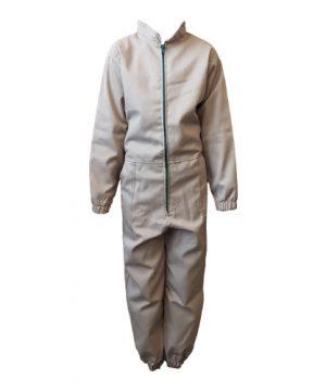Kids Overalls Basic Khaki