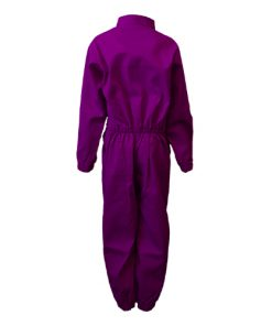Kids Overalls Basic Purple