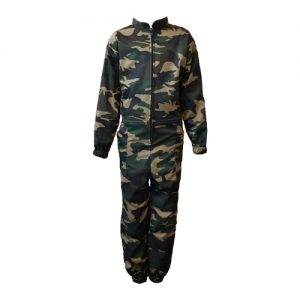 Kids Camouflage Overalls Green