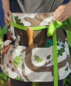 Trees and Nuts Apron