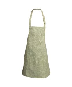 kitchen apron green floral